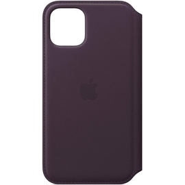Apple iPhone 11 Pro Leder Folio aubergine