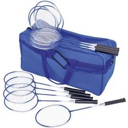 Badminton Schul-Set - mit Tasche