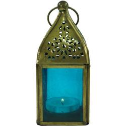 Guru-Shop Laterne Glaslaterne, Windlicht, Teelichthalter aus..
