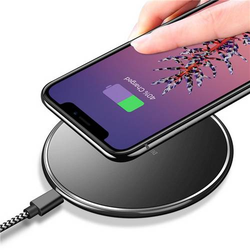 Dux Ducis C1 - Qi Wireless Charger 5W Schnell Ladegerät Fast Charger + Micro USB Kabel