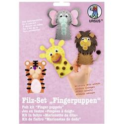 Filz-Set Fingerpuppen Wildtiere