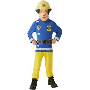 Rubie's Feuerwehrmann Sam – Feuerwehrmann Sam Kostüm Classic Talla M (5 a 7 años) blau