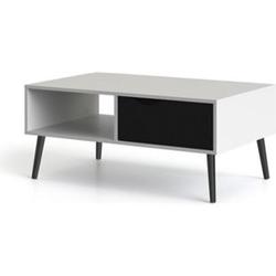 Couchtisch NAPOLI Wohnzimmertisch Beistelltisch Tisch Wohnzimmer schwarz/weiß