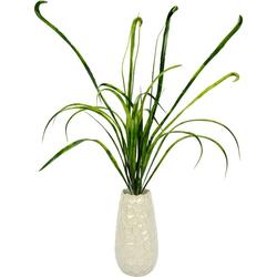 Kunstgras Grasbusch Gras, I.GE.A., Höhe 90 cm, in Vase