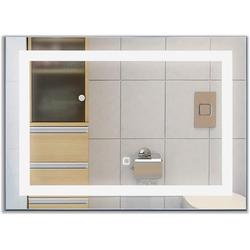 COSTWAY Badspiegel Hängespigel Wandspiegel 50 cm x 3 cm x 70 cm