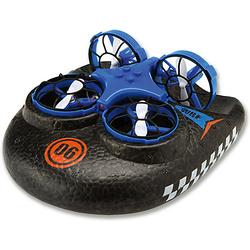 Trix - 3 in1  Hovercraft Drohne, blau. Für Wasser - Land - Luft