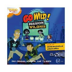 Edel Hörspiel CD Go Wild 10 - Geheimnissvolle Kreaturen