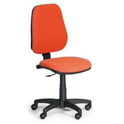 Bürostuhl comfort pk, ohne armlehnen, orange