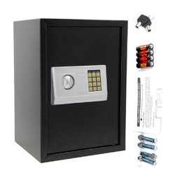 FCH Tresor EA-50, Elektronisch Möbeltresor Tresor Dokumententresor Safe Elektronischer Geldschrank 50x35x30cm