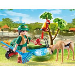 PLAYMOBIL Geschenkset Zoo