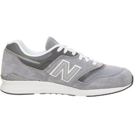 NEW BALANCE WL 697 Women's grey/ white, 36
