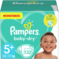 Pampers Baby-Dry 12-17 kg 132 St.