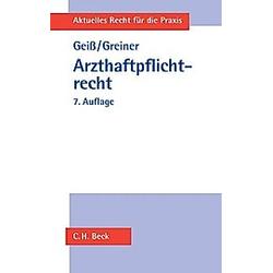 Arzthaftpflichtrecht - Buch