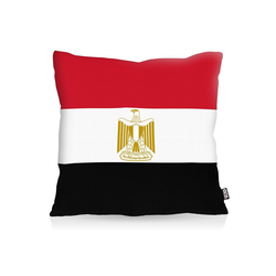 Kissenbezug, VOID, Ägypten Egypt Flagge Fahne Fan-EM WM Länderflagge 50 cm x 50 cm