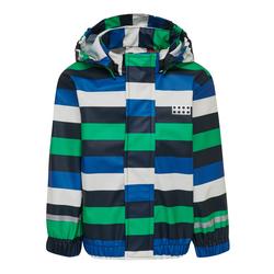 LEGO Wear Regenjacke LWJULIO 202 blau Kinder Regenjacken Jacken Westen Jungenkleidung