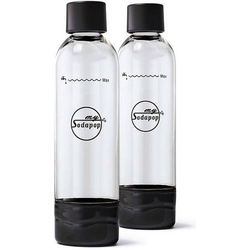 My Sodapop PET-Flasche A252225 Schwarz, Klar