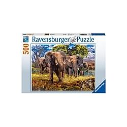 Elefantenfamilie (Puzzle)