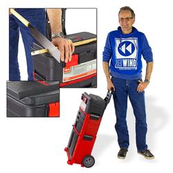 Werkzeugtrolley Werkzeugwagen Werkzeugkiste fahrbar mit Rollen
