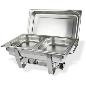 Speisenwärmer / Warmhaltebehälter 2 Schalen