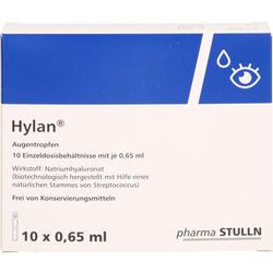 HYLAN 0,65 ml Augentropfen 10 St.