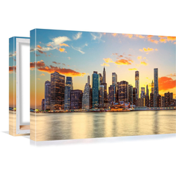 Conni Oberkircher´s Bild Big City 3 - Sunset 100 cm x 60 cm