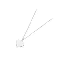 Smart Jewel Kette mit Anhänger Herz Anhänger, Karte, Silber 925