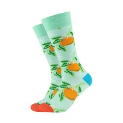 Fun Socks Socken (2-Paar) mit trendigen Orangen