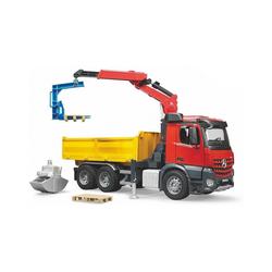 Bruder® Spielzeug-Auto Bruder 3651 Profi-Serie MB Arocs Baustellen-LKW