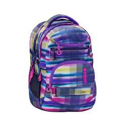 Wave Schulrucksack Infinity, Schultasche, für die weiterführende Schule, Rucksack für Mädchen und Jungen bunt