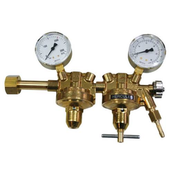 HERCULES Druckminderer Argon/CO2 zweistufig mit Manometer MIG/MAG, WIG 200 Bar