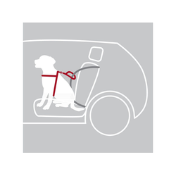 TRIXIE Autohundegeschirr Auto Sicherheitsgeschirr Hund Dog Protect, Nylon M