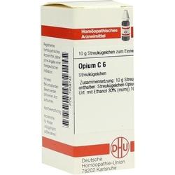 OPIUM C 6 Globuli 10 g