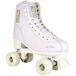 KRF Kinder Rollschuhe, Roller Figure Quad School PPH, White, 38, 0016918