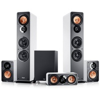 Teufel Ultima 40 Surround 5.1-Set weiß / schwarz