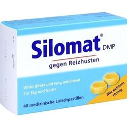 SILOMAT DMP gegen Reizhusten Lutschpast.m.Honig 40 St
