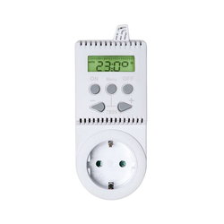 tectake Thermostat für Steckdose TS05 Smartes Heizkörperthermostat