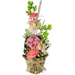 Kunstpflanze Blüten, I.GE.A., Höhe 48 cm