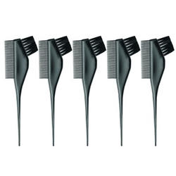 5x Färbepinsel mit Kamm Efalock Haarfärbepinsel Friseur Pinsel Farbpinsel