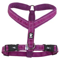 Hurtta Casual Y-Geschirr violett, Größe: 35 cm