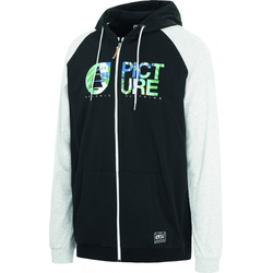 PICTURE HOWLAND LIGHT Zip Hoodie 2020 black - L