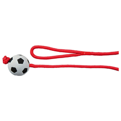Trixie Fußball am Seil, Moosgummi