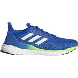 adidas Solarboost 19 M glow blue/cloud white/signal green 42 2/3