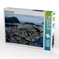 Alesund in Norwegen Lege-Größe 64 x 48 cm Foto-Puzzle Bild von Fotine Puzzle