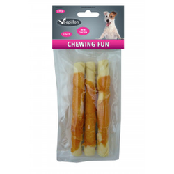 Rolsticks met kip - 17cm  Per 3 verpakkingen