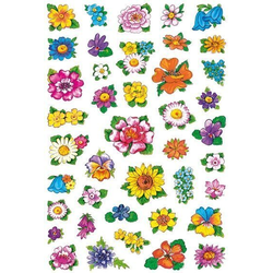 HERMA 3522 10x Sticker DECOR Kleine Blumenköpfe