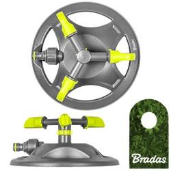 3-Arm Rasensprenger Sprinkler Regner Bewässerung Kreisregner LIME LINE LE-6201 BRADAS 2174
