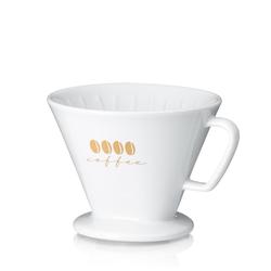 Kaffeefilter L Excelsa Porzellan weiß 11,5cm 14,5cmØ