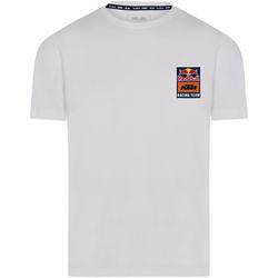 Red Bull T-Shirt KTM Backprint Weiß