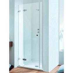 Sprinz BS-Dusche mit einer Duschtür, 2 Festteilen für Nische