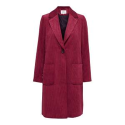ONLY Cord Mantel Damen Rot Female S